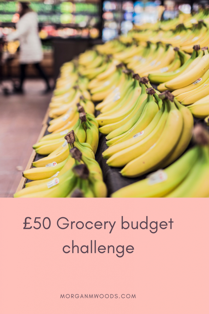 £50 grocery budget challenge