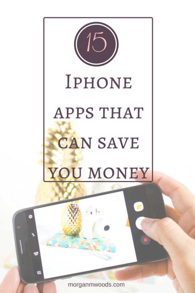 15 Iphone apps that can save you money