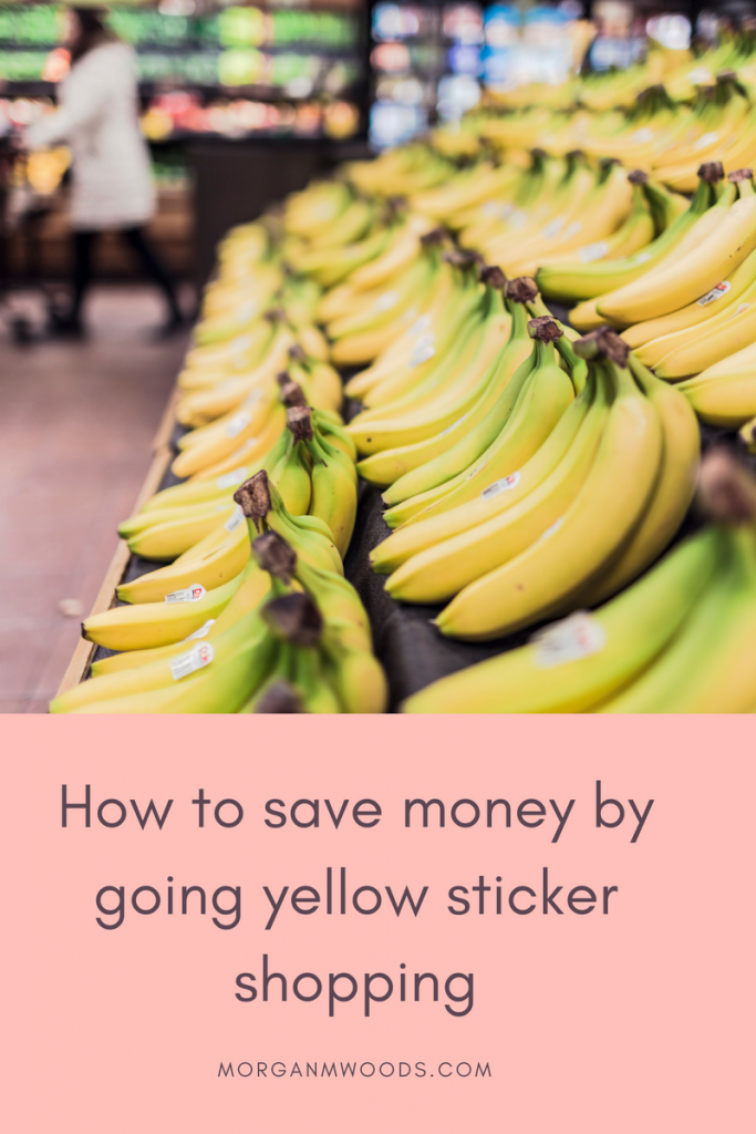 How to save money by going yellow sticker shopping
