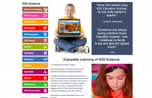 education quizzes ks2 subjects