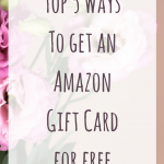 Get a free Amazon Gift Card: The top 5 Ways