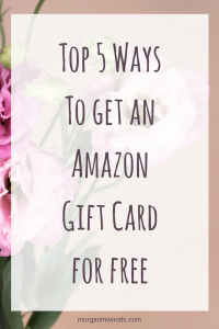 Top 5 Ways To get a free Amazon Gift Card