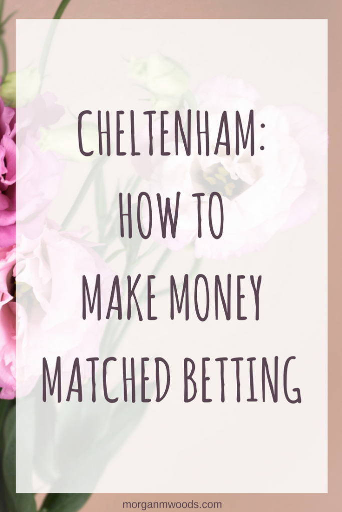Cheltenham : How to make money matched betting