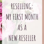 Reselling: My first Month as a New Reseller
