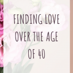 Finding love over the age of 40 online