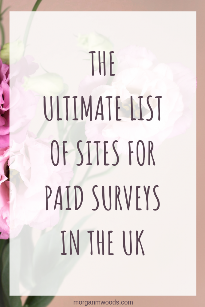 The ultimate list of sites for paid surveys in the UK