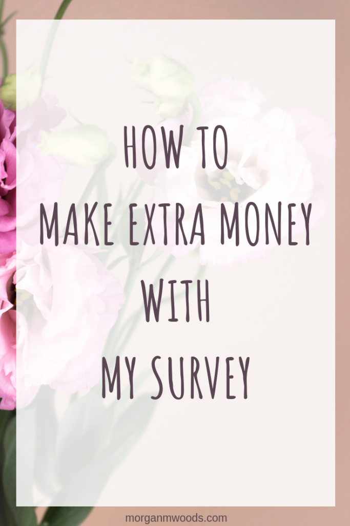 How to make extra money with my survey