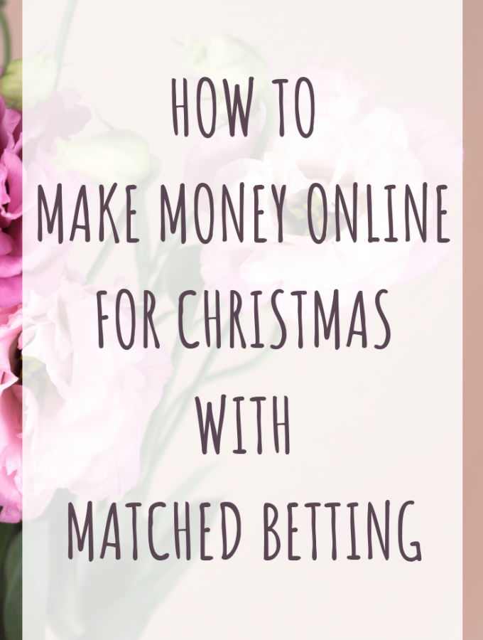How to make money online for Christmas with Matched betting