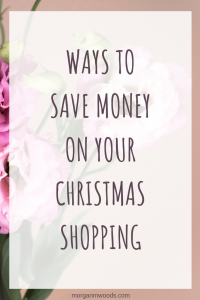 Ways to save money on your Christmas shopping