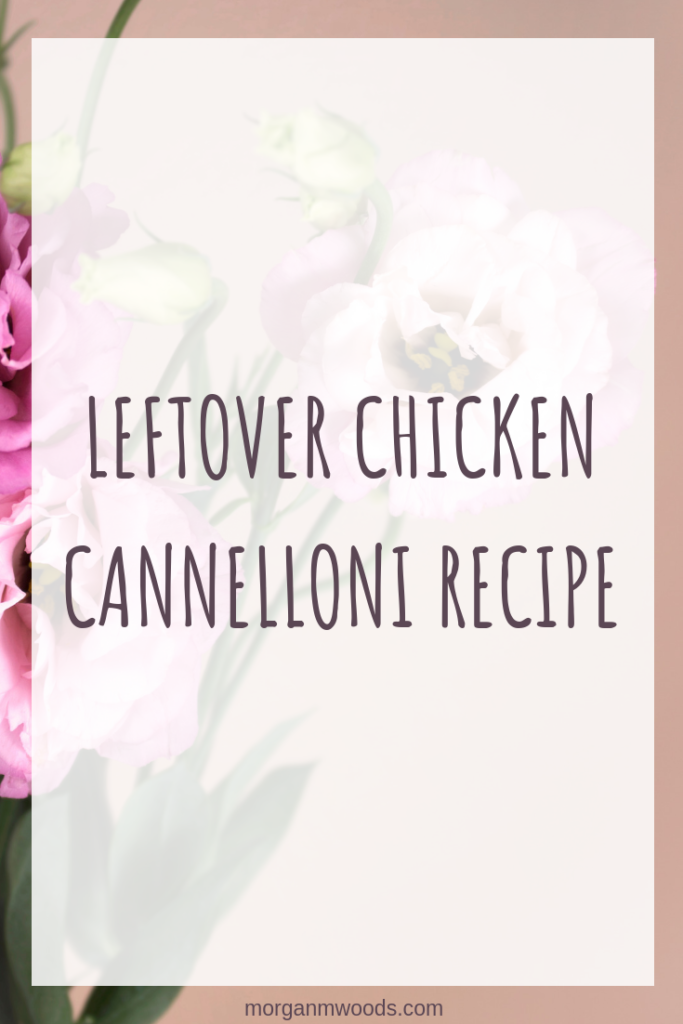 Jamie Oliver's Leftover chicken cannelloni recipe