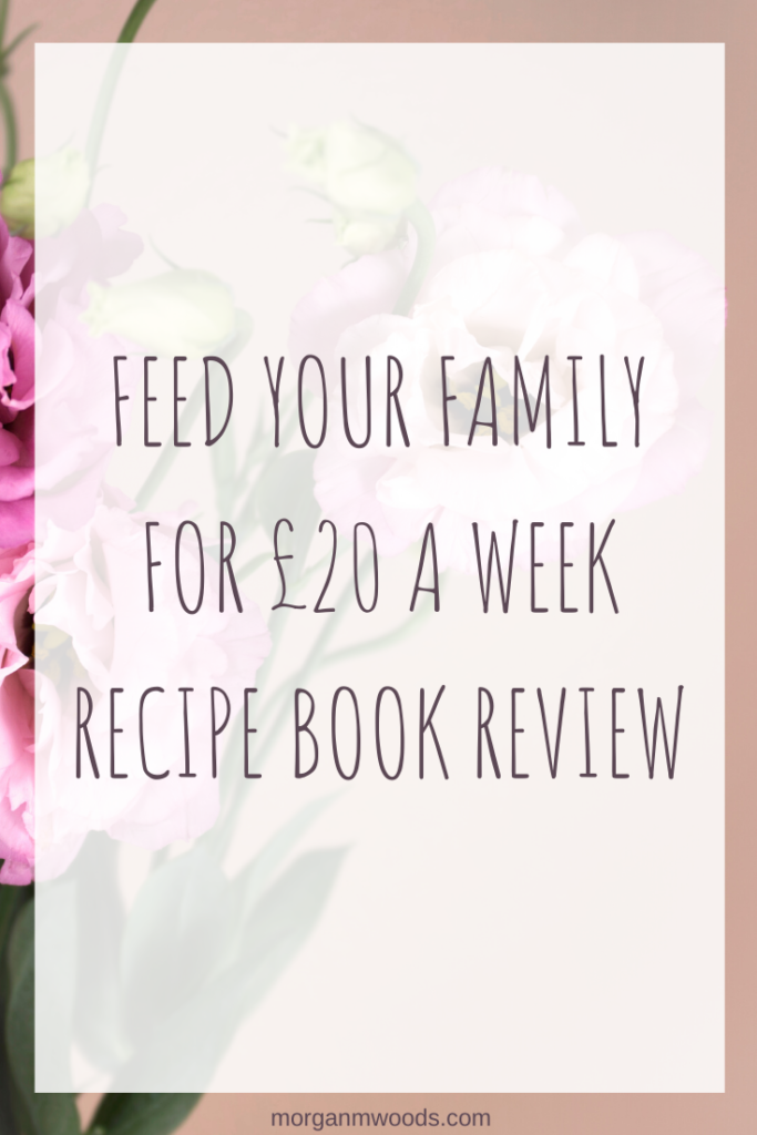 Feed your family for £20 a week recipe book review