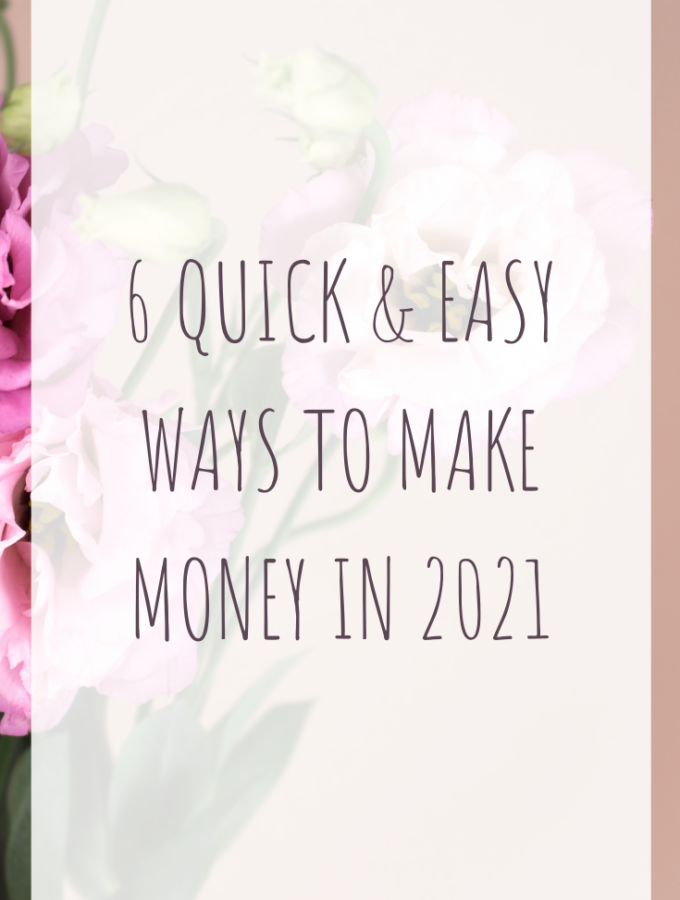 6 quick & easy ways to make money in 2021
