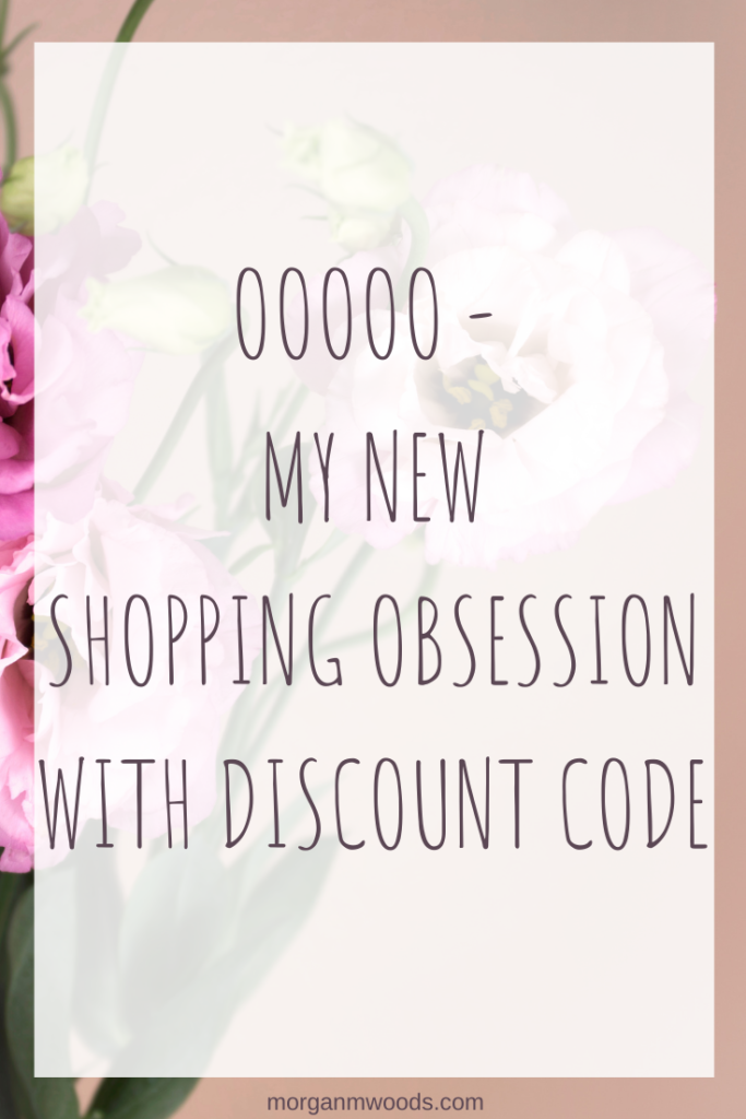 OOOOO - my new shopping obsession with discount code